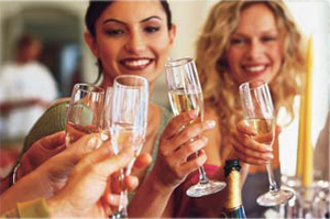 Champagneprovning Taysta