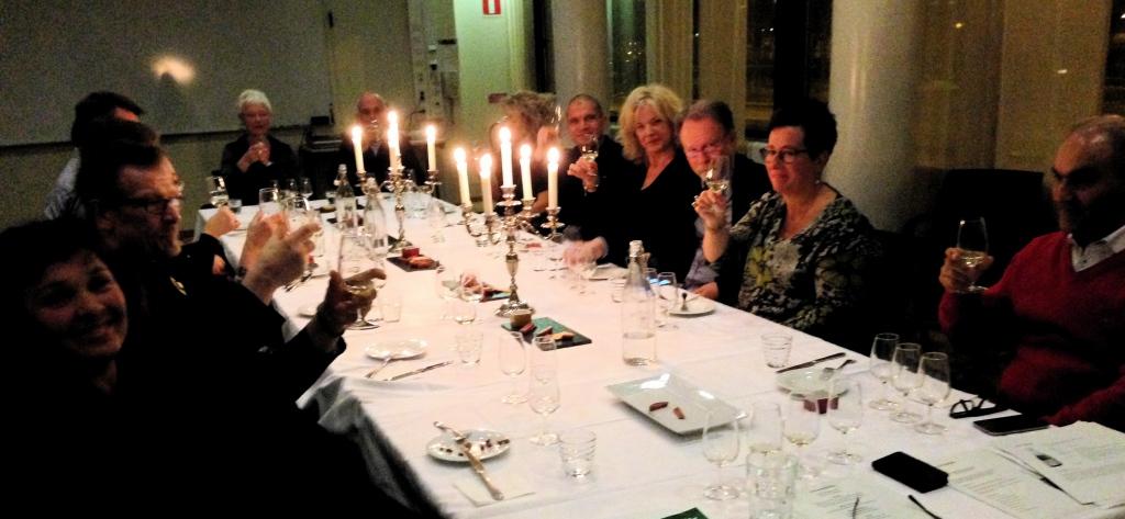 Champagneprovning i Gävle den 0703 1