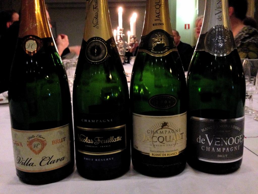 Champagneprovning i Gävle den 0703