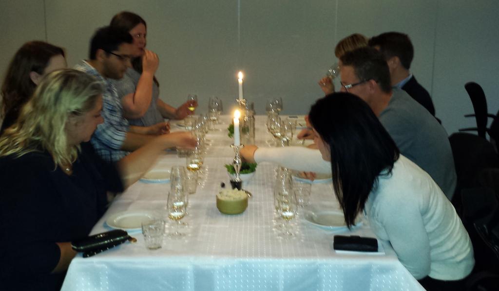 Champagneprovning i Västerås 2