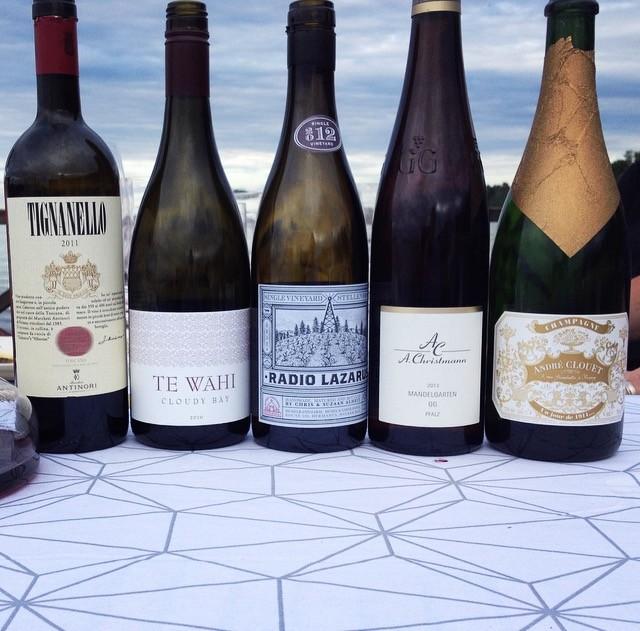 Lyxig vinprovning 4