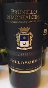 ost och vinprovning uppsala Barolo DOCG Tenuta di Collosorbo från 2010